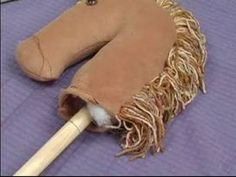 Video: How to Attach Hobby Horse Head to Stick | eHow