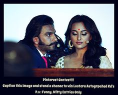 #Lootera Caption Contest                                                        Rules                                                              1. Follow us on Pinterest                                     2 .Caption the Image and Win