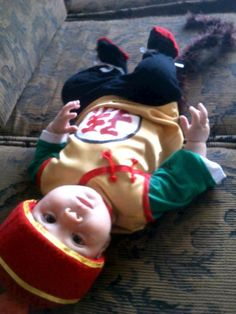 9 Super Cute Kids in Dragon Ball Z Cosplay: Cute Baby Dressed Up as Dragon Ball Z's Gohan