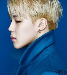 BTS Jimin - Singles Magazine January '17
