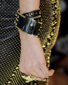 LOVE this bracelet at Versace