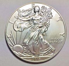 2017 Silver American Eagle 1 Oz 999 Fine One Dollar Brilliant Unc