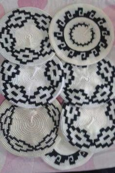 Boinas Rosettes, Crocheting, Macrame, Crochet Hats, Mary, Tapestry, Pattern, Blog, Crafts