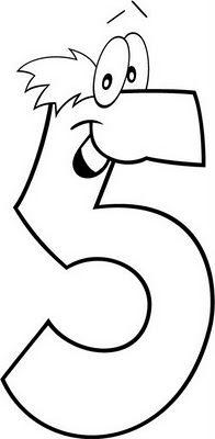 Child Coloring: Number 5 to Coloring Numbers Preschool, Preschool Printables, Kindergarten Worksheets, Preschool Activities, Tracing Worksheets, Worksheets For Kids, Kindergarten Mat, Birthday Template, Alphabet And Numbers
