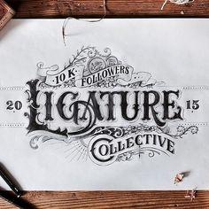 Ligaduras #caligrafía