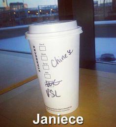 Janiece. Starbucks Worst Name Fails Ever • BoredBug