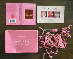 Free Bvlgari Omnia Pink Sapphire Fragrance Sample #freestuff #freebies #samples #free