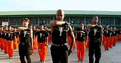 Image result for Dancing prison inmates from the maximum security prison in the Philippines