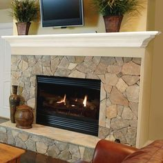 Pictures of Painted Fireplace Mantels | Pearl Mantels: MDF Mantels for your fireplace