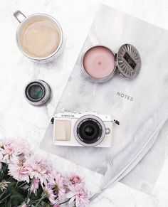 white, aesthetic, and camera image