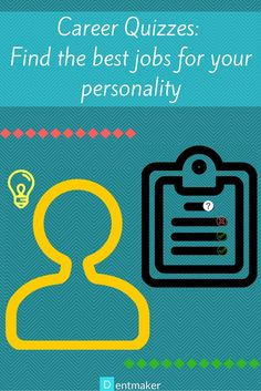 Take a career quiz to gain insights into your personality. Discover the jobs you are best suited for. Find your dream career.