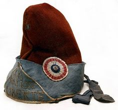 """This """"Bonnet Rouge"""" or phrygian hat was a soft woolen peasants cap which was worn in Ancient Greece and Rome to symbolize freedom. Revolutionaries utilized this cap to symbolize their desire for increased freedom."""