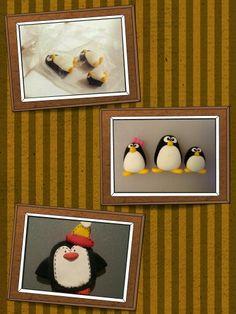 Penguins - magnets Penguins, Frame, Magnets, Crafts, Craft Ideas, Food, Home Decor, Ideas, Homemade Home Decor