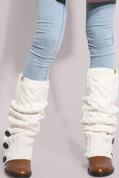 Ugg Cable Knit Leg Warmers