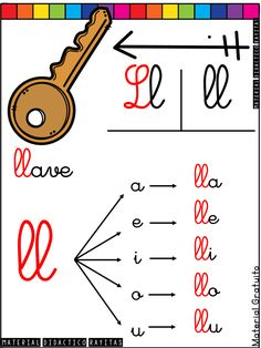 Alphabet Activities, Preschool Activities, Montessori, Bilingual Education, School Colors, Home Schooling, Dory, Acting, Kids