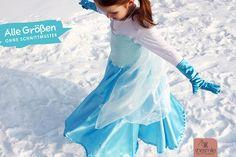 Hier+bekommst+du+eine+Schritt-für-Schritt-Nähanleitung+mit+vielen+Bildern+für+ein+Prinzessinnen-Kleid+mit+Tellerrock,+Schleier+und+Langarm-Shirt-Upcycling.+Eine+einfache+Anleitung+für+alle+Größen.+Ohne+Schnittmuster… Diy Halloween Costumes, Halloween Cosplay, Elsa Kostüm Kind, Upcycle, Tulle, Ballet Skirt, Girly, Knitting, Skirts