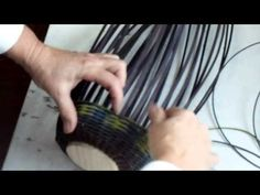 The dog tail method, seriously? - J Choate Basketry