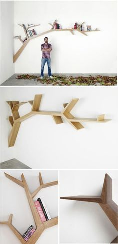 cool tree book shelf