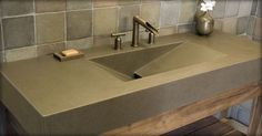Concrete is a growing segment of the countertop market as well. In the hands of a skilled craftsman, there is practically no shape, color or finish it can't transform into.