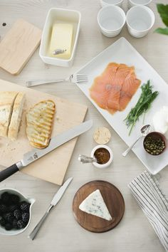 Smoked salmon breakfast, photo by @Melissa Squires Squires Oholendt, featuring @CUYANA Japan