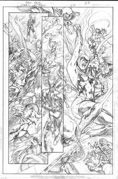 Green Lantern 25 p23 pencils by JulienHB.deviantart.com on @deviantART