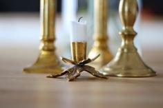 Brass Candle Sconces, Candle Holders, Wall Lights, Brass, Candles, Lighting, Home Decor, Homemade Home Decor, Appliques