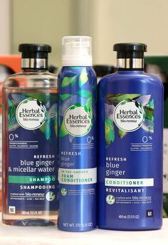 herbal essences blue ginger and micellar water. Good Shampoo And Conditioner, Cleansing Conditioner, Best Cheap Shampoo, Pantene, Beauty Over 40, Herbal Essences, Healthy Hair Tips, Micellar Water, Best Shampoos