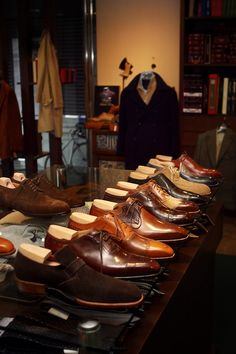 maninpink: Coccinella, Bespoke Salon in Osaka Japan -Roberto Ugolini Bespoke Shoes