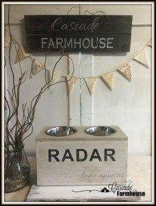 simple, practicle interior design and homemaking Dog Feeding Station, Vintage Dog, Homemaking, Place Cards, Farmhouse, Place Card Holders, Interior Design, Simple, Diy