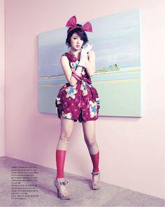 Yoon Eun Hye - Vogue Girl Magazine March Issue 2011