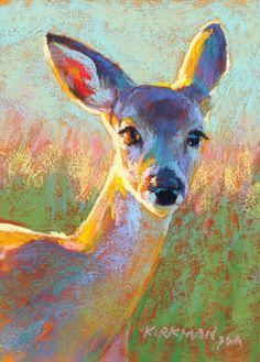 """Rita Kirkman, """"Darby"""" (pastel, 7x5"""")"""