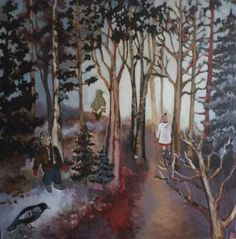 "Saatchi Art Artist justine formentelli; Painting, ""Lost and found"" #art"