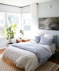 calm, inviting bedroom