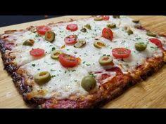 Cómo hacer Pizza Keto (Receta de Pizza Sin Harina) paso a paso - YouTube Low Carb Recipes, Snack Recipes, Healthy Recipes, Stromboli Recipe, Calzone, Keto Diet Review, Pasta Casera, Comida Keto, Keto Taco