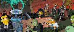 Guillermo del Toros Simpsons-Intro with references - great stuff
