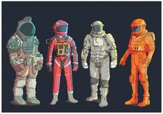 Scifi Spacesuits. on Behance