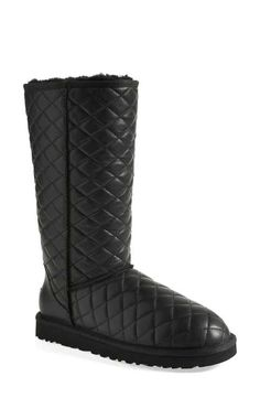 UGG® 'Classic - Tall' Diamond Quilted Boot (Women)