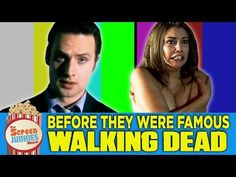 A Video Compilation of Zombie Killing Cast Members From 'The Walking Dead' in Past Roles Before They Were Famous