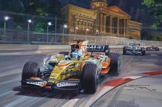 grand prix paintings - Google Search