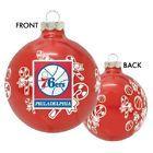 For Sale - Philadelphia 76ers NBA Basketball Glass Christmas Ornament Holiday Decoration - http://sprtz.us/SixersEBay