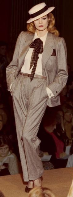 Yves Saint Laurent 1978 Couture