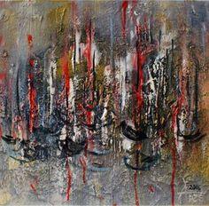 """Saatchi Art Artist Alla Dzevaltovska; Painting, """"Boats"""" #art"""