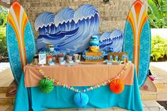 Surf Shack Birthday Party Planning Ideas Supplies Idea Pool Party