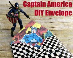 Capt DIY envelope