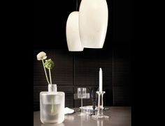 Nella Vetrina Vistosi Marble SP 23 Hanging Lamp in White Blown Glass
