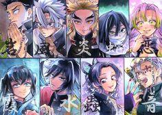 Pillar - Demon Slayer - Kimetsu No Yaiba Anime Angel, Anime Demon, Manga Anime, Anime Art, Demon Slayer, Slayer Anime, Anime Rules, Demon Hunter, Animes Wallpapers