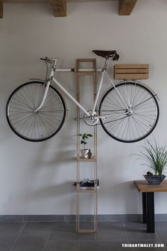 Bike Hanger #2 by Malet Thibaut, via Behance