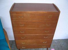 Hovedbilde Teak, Retro, Dresser, Antiques, Furniture, Home Decor, Antiquities, Powder Room, Antique
