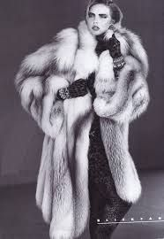 fur coat vogue - Google Search