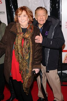 <3 Anne Meara and Jerry Stiller, married since 1954. | 27 Celebrity Couples Who Will Restore Your Faith In Love